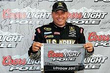NASCAR - Das Duo Newman & Stewart steht in Reihe eins: Rocket-Man Ryan Newman holt sich die Pole