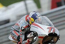 Moto3 - Handling und Umlegen verbessert: Schr�tter freut sich auf Br�nn