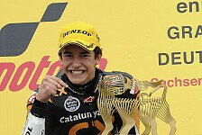 Moto2 - Hattrick nicht ausgeschlossen: Marquez fokussiert ans Sachsenring-Werk