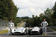 Formel 1 - Alt gegen neu: Video - Fr�her & heute: Silberpfeile im Wandel