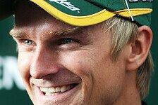 Formel 1 - Der Strahlemann der Boxengasse: Marions Highlight 2011: Heikki Kovalainen