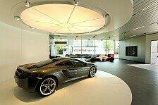 Auto - Standorte D�sseldorf und Hamburg legen los: Erste McLaren Showrooms er�ffnet