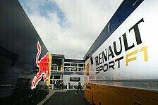 Formel 1 - Einstellung stimmt: Red Bull mit Entwicklung bei Renault zufrieden