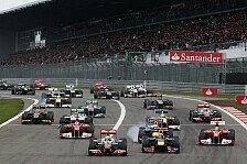 Formel 1 - Harter Dreikampf um den Sieg: Hamilton gewinnt den Deutschland Grand Prix