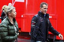 Formel 1 - Neugierige Leute unerw�nscht: Polizeischutz f�r Schumacher