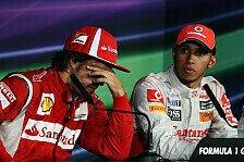 Formel 1 heute vor 10 Jahren: Strafen-Kur für Alonso & Hamilton