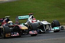Formel 1 - �hnliche Bedingungen wie in der F1: Schumacher und Alguersuari fahren Kart-Rennen