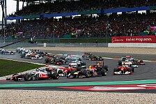 Formel 1 - Nur noch vier Wochen: N�rburgring: F1-Vorbereitung hat begonnen