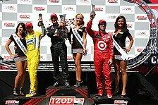 IndyCar - Strafe f�r Helio Castroneves: Franchitti verk�rzt R�ckstand am gr�nen Tisch