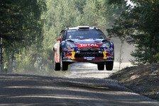 WRC - Latvala spielt taktisch: Loeb holt sich F�hrung zur�ck