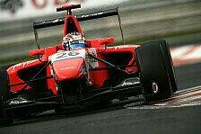 GP3 - An beiden Tagen ganz vorne: Evans dominiert Barcelona-Test