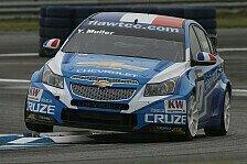 WTCC - Huff, Menu & Muller bleiben: Chevrolet: Fahrer bleiben auch 2012