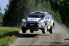 WRC - Podium ist anvisiertes Ziel: Burkart im Fiesta RS WRC in Deutschland am Start