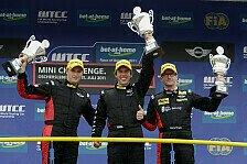 MINI Challenge - Bilder: WTCC - 7.-9. Lauf