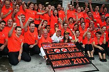 Formel 1 - Whitmarsh: Können beide Titel gewinnen