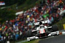 Formel 1 - HRT reist positiv gestimmt nach Ungarn