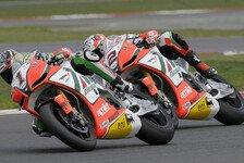 Superbike - An der Seite von Biaggi: Laverty aus offizieller Aprilia-Box