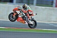 Superbike - Eugene Laverty mit neuer Sitzposition in Silverstone: Biaggi will mit Vollgas in den Endspurt