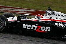 IndyCar - Franchitti nur mit Startplatz elf: Power fliegt in Kentucky Richtung Titel