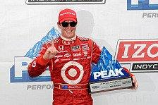 IndyCar - Dario Franchitti macht Doppelsieg f�r Chip Ganassi perfekt: Scott Dixon gewinnt in Mid-Ohio