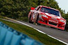 NASCAR - Mit Streckenrekord zur ersten Road-Course-Pole : Erneute Pole f�r Juan Pablo Montoya