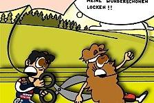 MotoGP - Weg mit den Locken: Neuer Comic: Pedrosas Rache