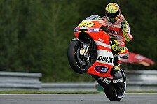 MotoGP - Ducati baut Aluminium-Rahmen?: Rossi vielleicht doch bald auf Alu