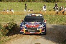 WRC - Loeb erobert Spitze kurz vor Mittag: Reifenpoker am ersten Tag in Deutschland