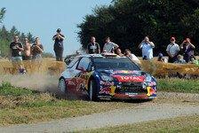 WRC - Ogier nah dran: Loeb beendete Tag eins als Schnellster