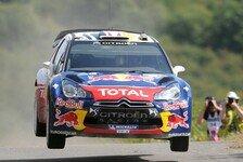 WRC - Metallpfosten 1 - K�hler 0: Ogier sorgt f�r Blech in Frankreich
