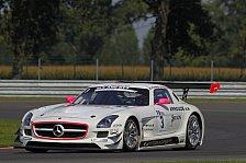 Mehr Motorsport - Perfektes Wochenende f�r den SLS AMG: FIA GT3: Zweiter Sieg f�r Mercedes
