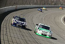 NASCAR - Kyle Busch holte sich das erste Chase-Ticket: Vierter Saisonsieg f�r Kyle Busch in Michigan