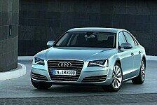 Auto - Die Luxuslimousine mit dem doppelten Antrieb: Audi Flaggschiff A8 hybrid