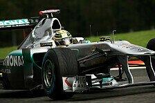 Formel 1 - Wetter hat sich in 20 Jahren nicht ver�ndert: Mercedes GP gr�belt �ber Spa-Setup