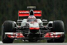 Formel 1 - McLaren-Street-Demo in der Heimat: Button auf den Stra�en Manchesters unterwegs