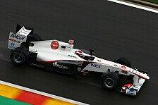 Formel 1 - Nur das Wetter war gut: Sauber-Piloten blieben in Spa punktelos