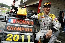 GP2 - Das gro�e Ziel bleibt die Formel 1: Grosjean: Es f�hlt sich fantastisch an