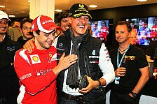 Formel 1 - Jeden Tag Gebete: Massa-Special: Schumacher f�hrt mit