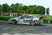 DRS - Zeltner gewinnt die AvD-Niederbayern-Rallye: Porschesieg bei Regenschlacht