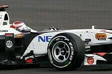 Formel 1 - Eine harte Nuss f�r uns: Sauber: Mit ged�mpften Erwartungen nach Monza