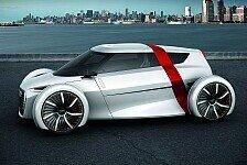 Auto - Innovative Studie eines City-Cars mit 1+1 Sitzen: Audi urban concept: Fahrzeugkonzept ohne Vorbild