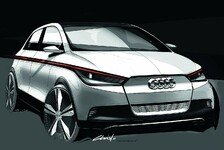 Auto - Neuartig lichtes Innenraumdesign: Audi A2 concept: Raum-Konzept auf Premiumniveau