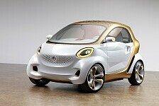 Auto - Elektromobilit�t ganzheitlich gedacht: smart forvision: Die elektromobile Zukunft