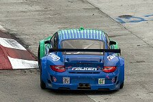 ALMS - Sieg gibt Motivation: Porsche mit 911 GT3 Hybrid in Laguna Seca