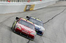 NASCAR - Rekord-Sieg Nummer 85 f�r Jeff Gordon in Atlanta: Jeff Gordon siegt vor Jimmie Johnson
