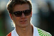 Formel 1 - Wetter-Chaos? Nichts dagegen: Nico H�lkenberg