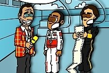 Formel 1 - Der gro�e Senna: Neuer Comic: Hamiltons legend�rer Kritiker