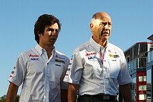 Formel 1 - Verst�ndnis f�r Entscheidung: P�rez-Nachfolger: Sauber hat keine Eile