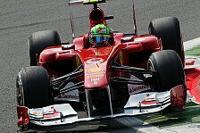 Formel 1 - Im letzten Versuch zu viel gewollt: Massa erwartet in Monza wenige Boxenstopps