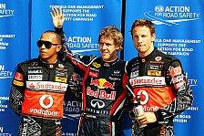 Formel 1 - Button wird nie wieder Weltmeister: Irvine w�nscht sich Hamilton bei Red Bull